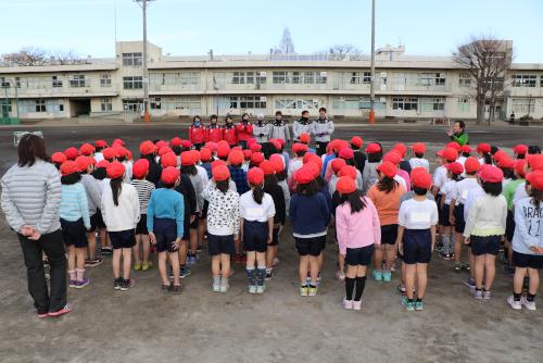 相模原市立星が丘小学校にて巡回サッカー教室を実施しました