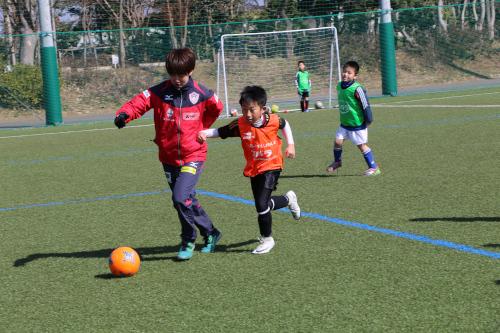 「エバラキッズサッカーフェスタ&セミナー withなでしこ」に協力致しました