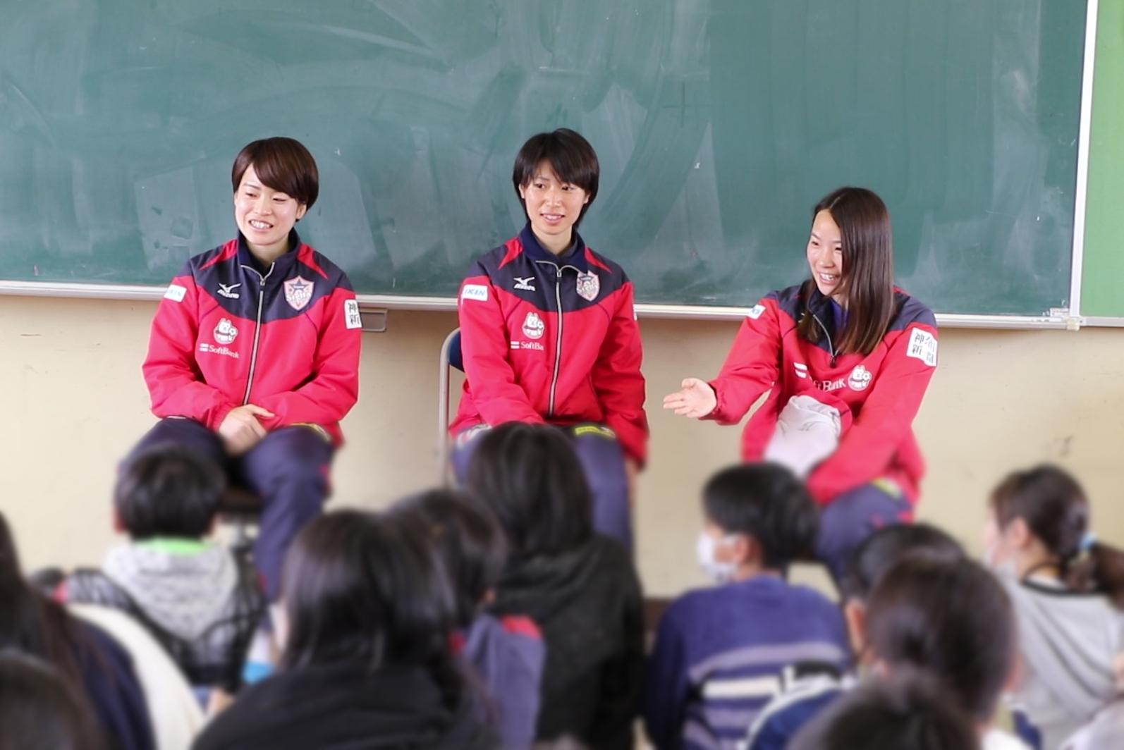 相模原市立田名小学校を訪問しました